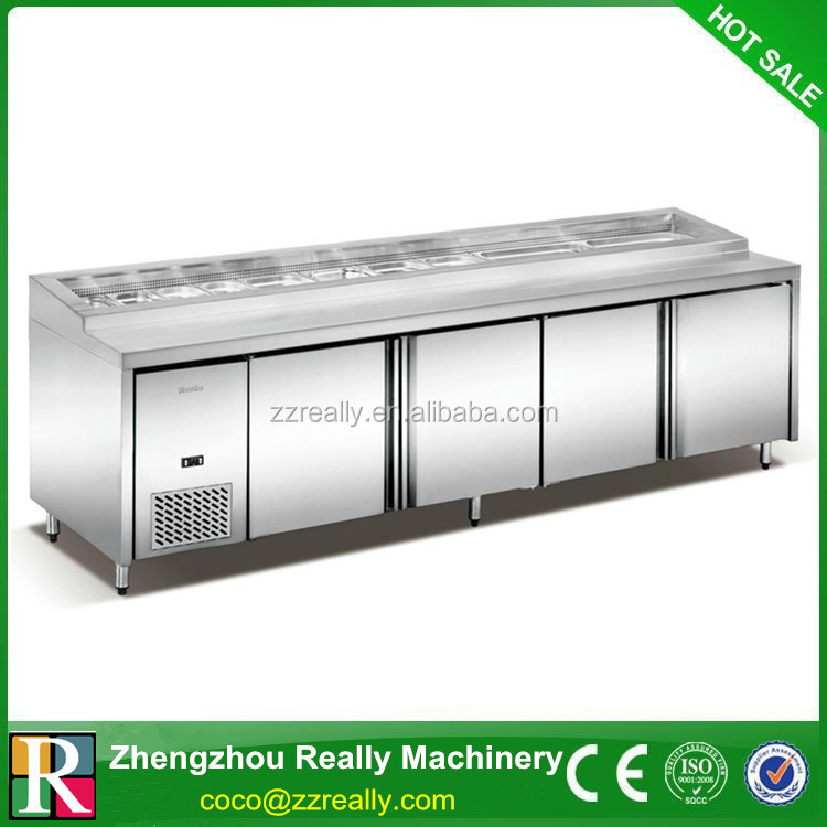 1.5 meter Refrigerated Worktable, table top cold cabinet refrigerator
