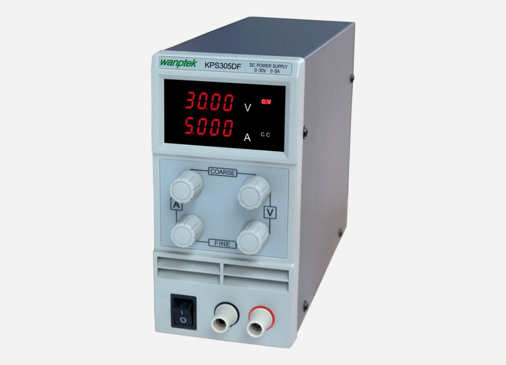 High precision switching dc power supply KPS305DF adjustable lab dc power supply 30V 5A