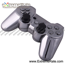 Wireless Chrome Gun Replacement Housing Shell For PS3 Console Controller