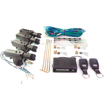 Learning code remote central lock with high class quality door actuators Lock/Unlcok