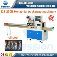 Snacks Food Item lollipop Automatic horizontal Packaging Machine Price