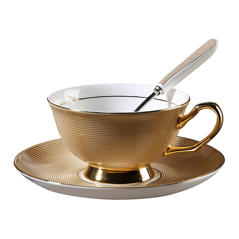 Gold Ceramic Bulk Tea <strong>Cups</strong> and Saucers Cheap Fine Porcelain Bone China Tea <strong>Cups</strong>