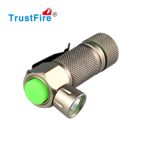 Mini torch 280 lumens TrustFire led rechargeable night light, Belt clip flashlight with 1* rechargeable lithium battery