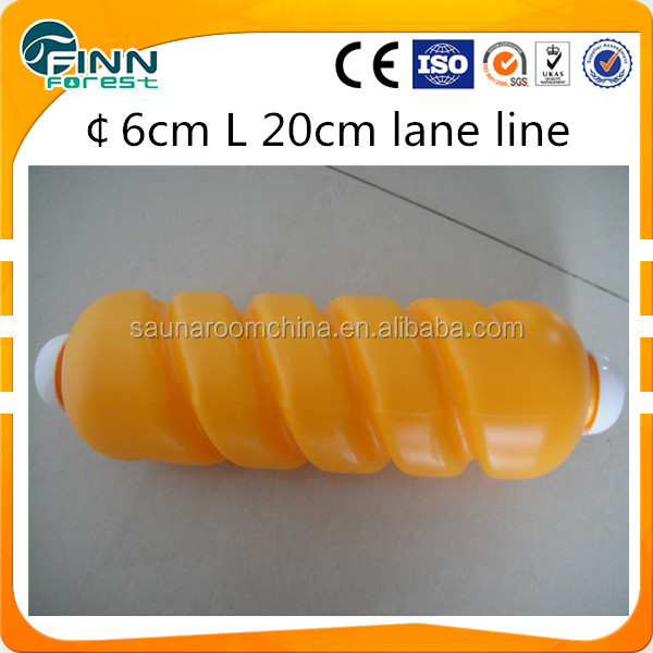 Spirl swimming pool float lane line/pool accessories