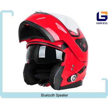 2017 New Design Full Face Motorcycle Helmet With Built in Bluetooth Intercom