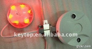 parking guidance led indicator red/green for single parking slots