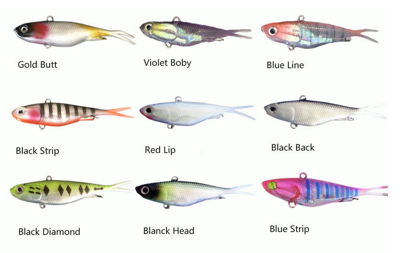 SOFT VIB,NEWEST MODEL,Soft Transam Lures Plastic Fishing Lures Soft Vib