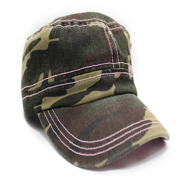2015 New style cheap custom men flat top caps military hats and caps