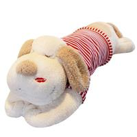 2018 valentine gifts type and stuffed plush dogs for marketing promotion