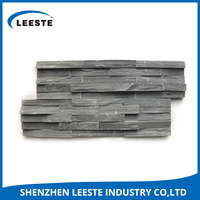 Can be customieze natural black / rusty / yellow slate stone