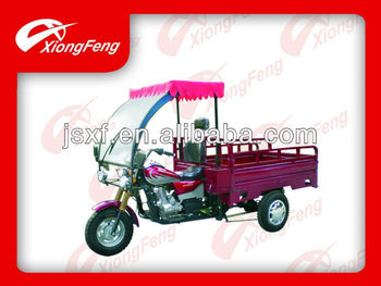 Tricycle, cargo tricycle, 3 wheels vehicle, with driver cover