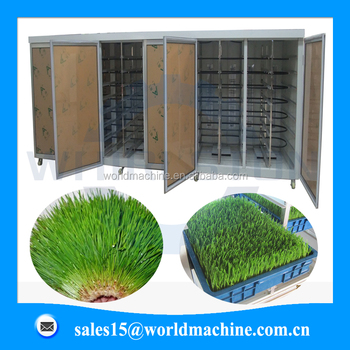 Hydroponic Barley Grass Sprouting Machine for animal