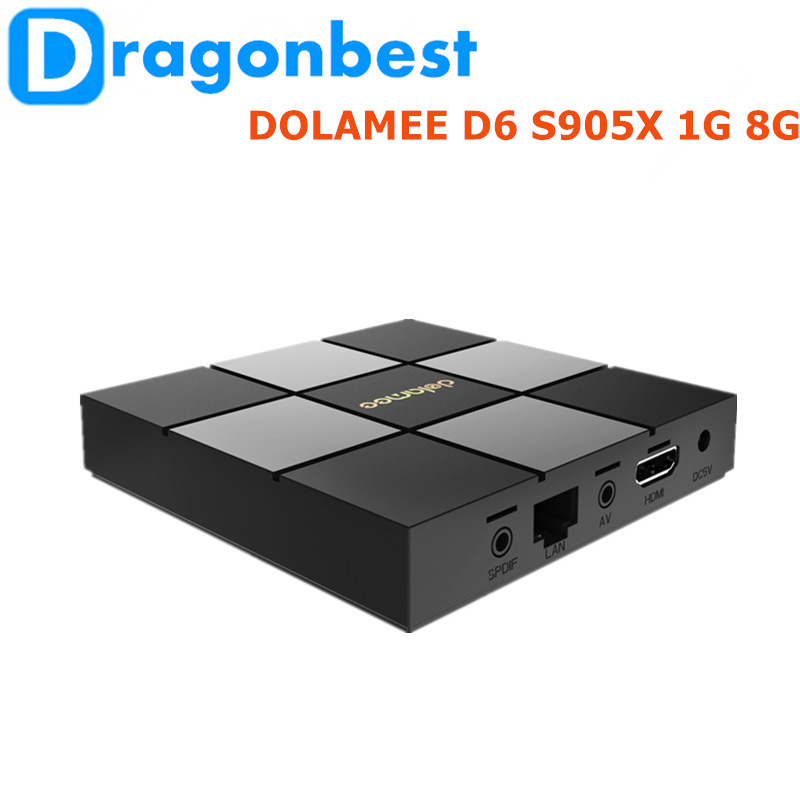 2017 Factory pri DOLAMEE D6 S905X 2G 8G projector media player With Long-term Servi Android 6.0 Smart TV Box