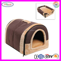 B696 Plush Pillows Indoor Small Dog Cat Bed Convertible Pet House Luxury Pet Dog Bed Wholesale