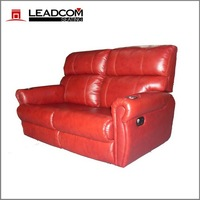 Leadcom luxury leather electric recline cinema couple chair (LS-801)