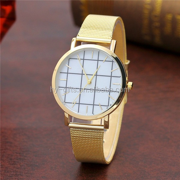New arrival best sale and leisure square face quartz watch with stainless steel band