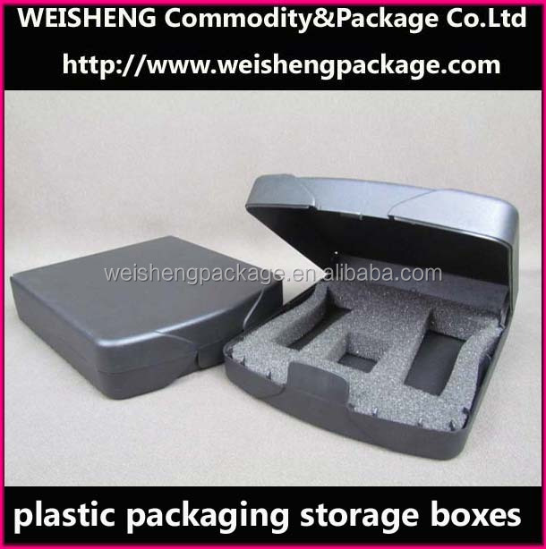 Clear acrylic Plastic Storage Case / StorageBox/Videos Packing Box/Hard Plastic
