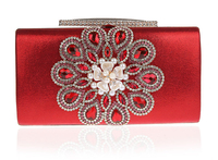 Top Beauty rhinestone crystal designer indian clutch purses wholesale