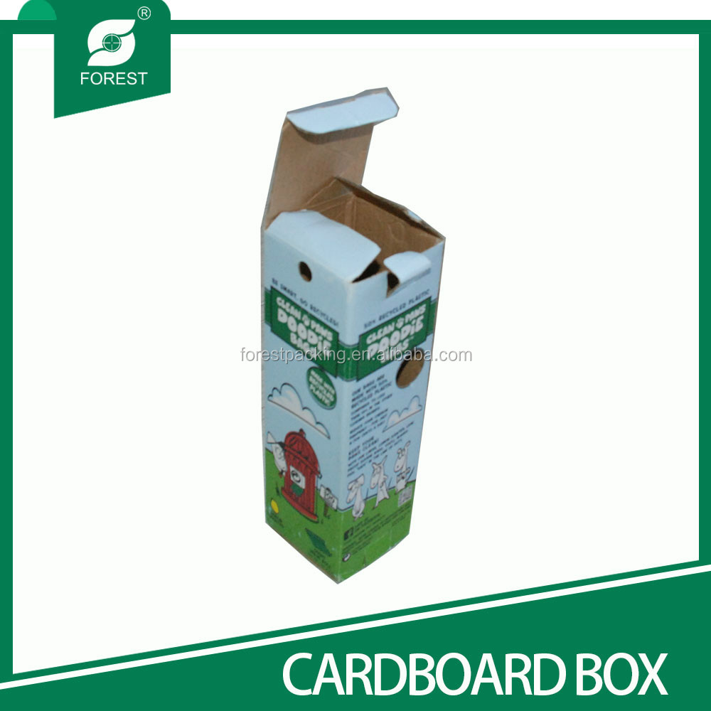 CUSTOM RECYCLED PACKING BOX FOR CUP