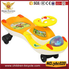 OEM color combination slide plastic toy car for New Year