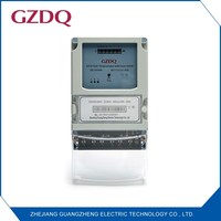 Three phase register display rs485 electricity meter electric energy meter