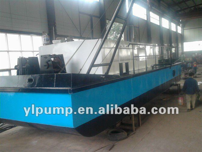 Hydraulic River Sand Pumping Ship Dredger
