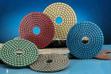 granite polishing pads/wet polishing pads for granite/diamond pad polishing for granit