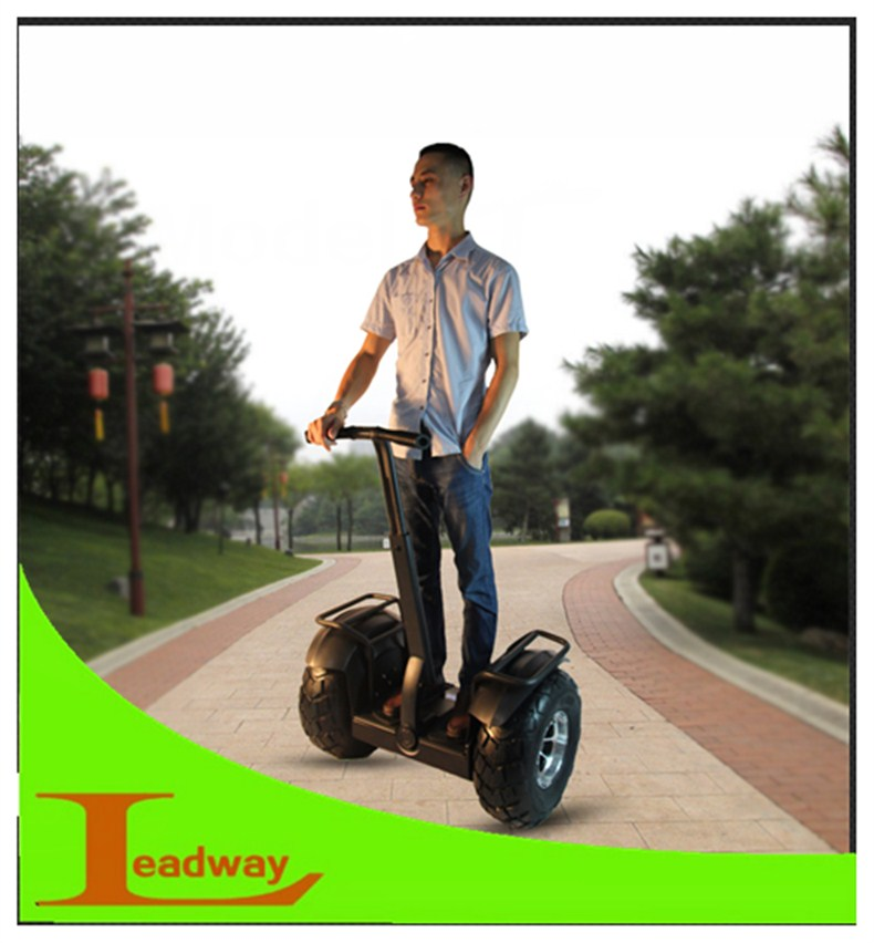 Leadway golf cart two wheel electric balance scooter 2000w (W5L-177a)