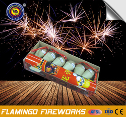 3 inch artillery shells CE approved fireworks for display