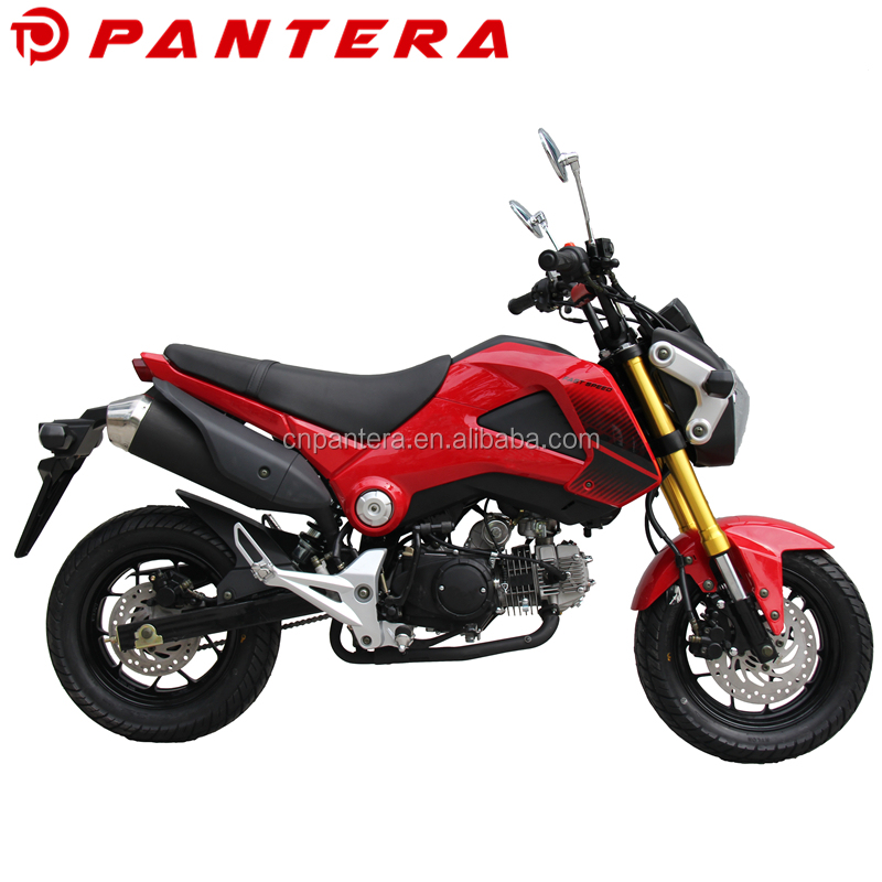 2016 New Cheap Motos Motocicleta Motorcycle 110cc Mini Monkey Bike