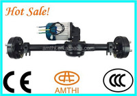 rear axle,33 inch and 34 inch differential rear axle with gear box for small car electric tricycle,Amthi