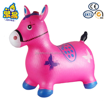 kids toys Inflatable Jumping Animal with Musical and painting