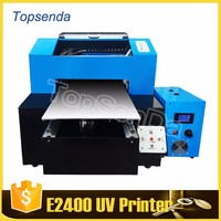 Connect with computer and software flatbed pvc plastic id card printer