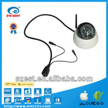 Wireless Network 720P IP Camera with CE, FCC, ROHS Certifications