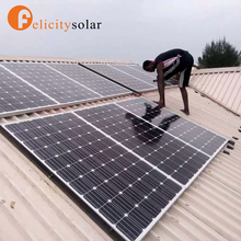 Easy install 3kw solar and wind power hybrid system for Central Africa