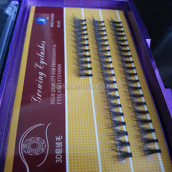 South Korea Makeup Eyelash Extension Factory Price Eyelashes