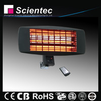 Scientec Electric Infrared Wall Quartz Heater With 3 Power Settings