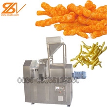 CE Certificate extruded corn curls kurkure cheetos snacks food chips extruder machine production line
