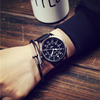 Big dial face cloth strap man watches,Star same style watch mens jewelry(SWTPW92)