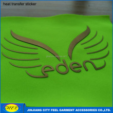 High density silicon rubber heat transfer label for shirt