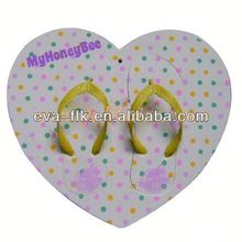 Promotional design changeable top sandals