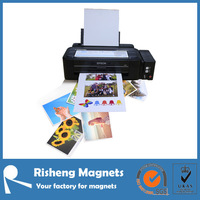 white high-glossy photo paper printable magnetic sheet
