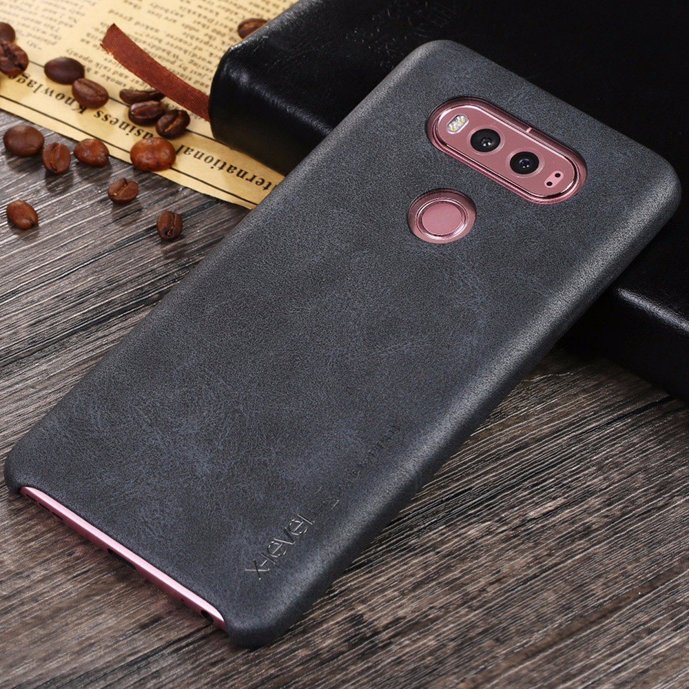 [X-Level] 2017 the Hottest Back Cover Case for LG V10/V20, PU Phone Case for LG V10