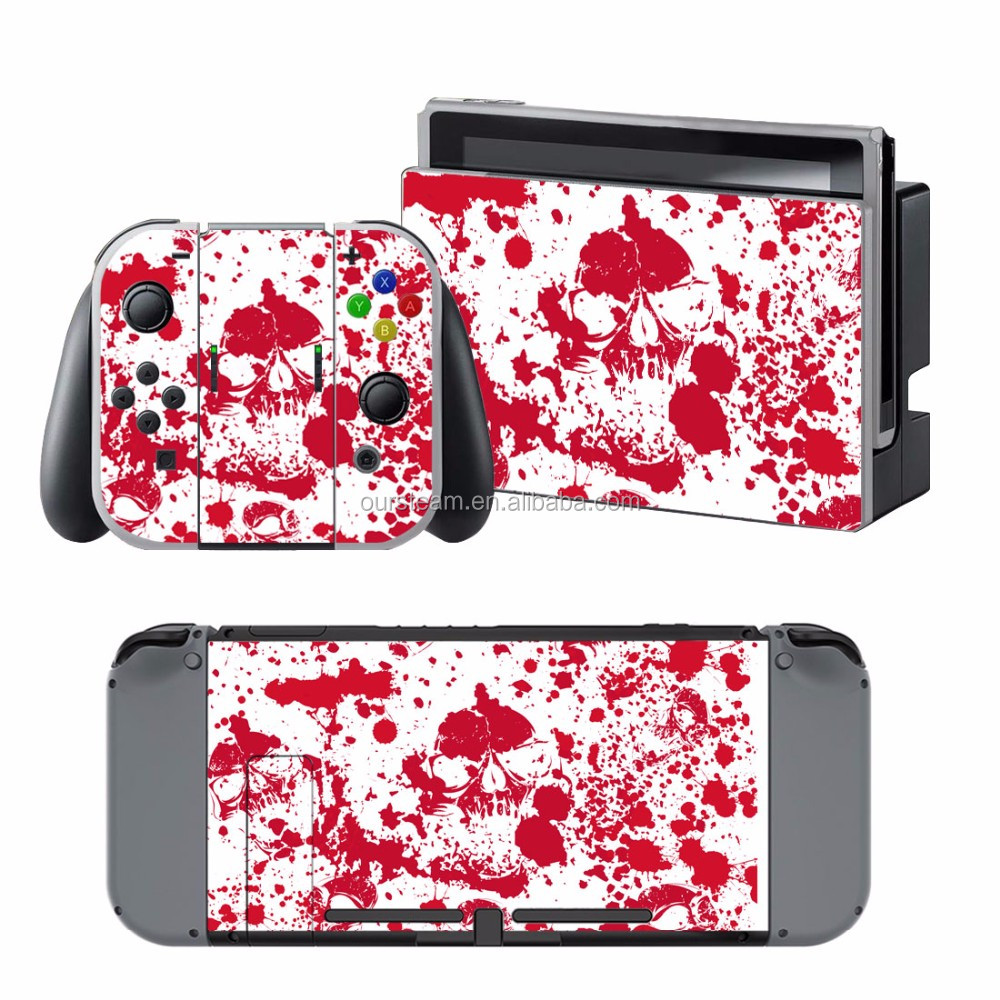 vinyl customized stickers for Nintendo Switch skin for Nintendo controller skin sticker