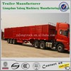 factory directly sale van semi trailer/all kinds of truck trailer made in china for sale