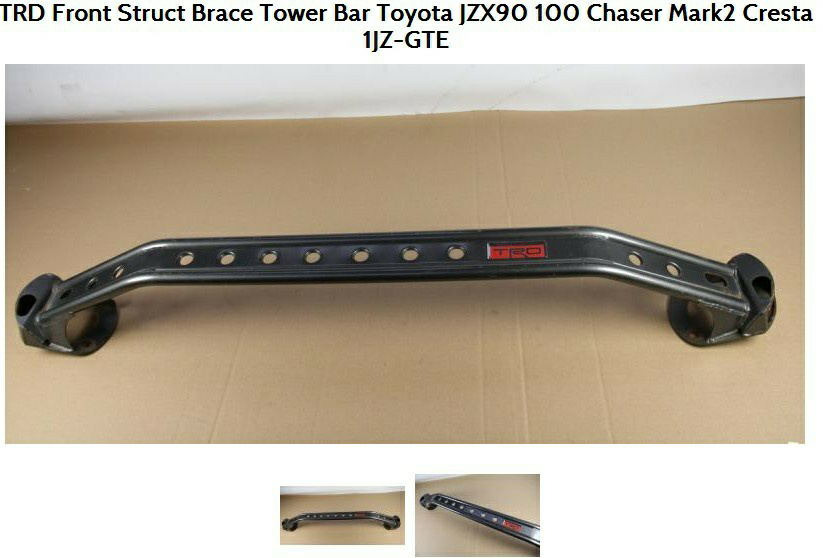 TRD type front strut brace tower bar for JZX90 100 Supra