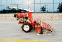 Shandong Huaxing--- 2015 walking tractor with small rice reaper factory