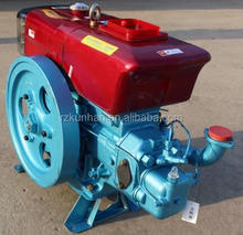 China Good quality cheaper Four stroke water cooled Single cylinder light weight small diesel engine