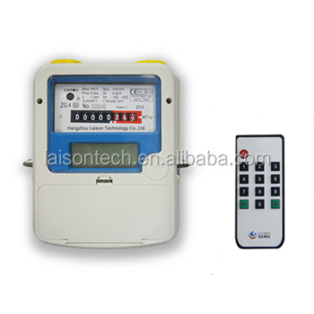 STS Prepaid Gas Meter with IR Pad