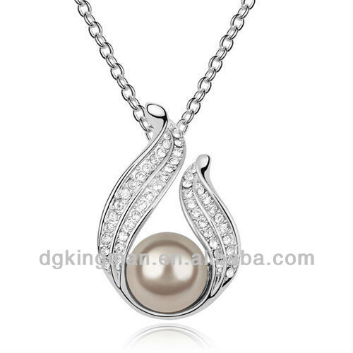 Wholesale Dreamland Jewelry Freshwater Pearl Pea Pod Necklace